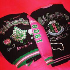 Alpha Kappa Alpha jacket