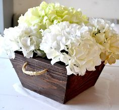 Ana White | Build a $1 Small Cedar Tapered Planter or Crate | Free and Easy DIY Project and Furniture Plans