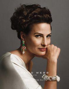 David Webb Jewelry Advertising