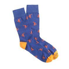 J.Crew - Corgi™ lightweight pattern socks