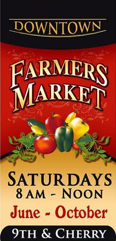 downtown farmers market banner