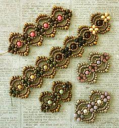 Lindas Crafty Inspirations: Lovely Lace Bracelet - More Samples