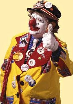 JP Patches You will be missed! You are a part of my childhood memories! Evil Clowns, Scary Clowns, Send In The Clowns, Circus Clown, Clowning Around, Pantomime, My Childhood Memories, Back In The Day, Good Old