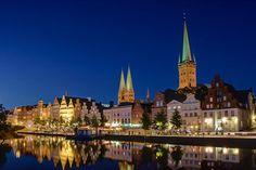 Obertrave, Lübeck (© Gero Brandenburg - Fotolia.com)