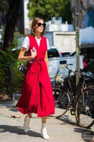 STYLE DU MONDE / New York SS 2017 Street Style: Alexa Chung  // #Fashion, #FashionBlog, #FashionBlogger, #Ootd, #OutfitOfTheDay, #StreetStyle, #Style