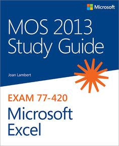 I'm selling MOS 2013 Study Guide for Microsoft Excel - $16.00 #onselz