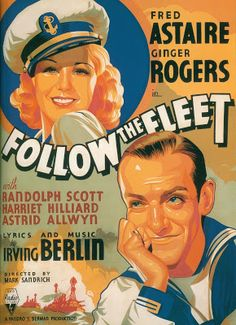 Love Letters to Old Hollywood: Astaire and Rogers let themselves go in... Follow the Fleet (1936)