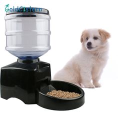 Super Smart Pet Automatic feeder 5.5 L Large Timer Automatic Pet Dog Cat Feeder Electronic Portion Control  Feeder with LCD #Affiliate