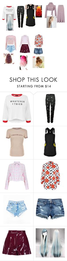 """Untitled #2492"" by aurorazoejadefleurbiancasarah ❤ liked on Polyvore featuring Valfré, Wildfox, Local Heroes, MINKPINK, Valentino and Pin Show"