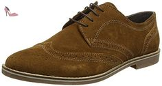 Red Tape  Checkley, Richelieu homme - marron - Marron (Beige), 45 - Chaussures red tape (*Partner-Link)