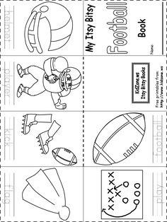 Free Printable Football Coloring Pages & Activities for