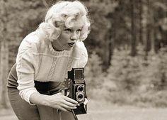 Rolleiflex for Marilyn Monroe