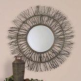 Found it at Wayfair - Josiah  Sunburst Decorative Mirror