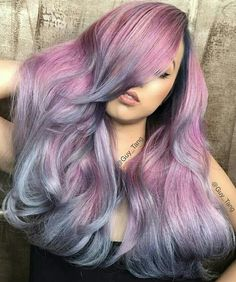 Gorgeous color! Reminds me of my character in Saints Row The Third. ~~ Guy Tang purple blue hair