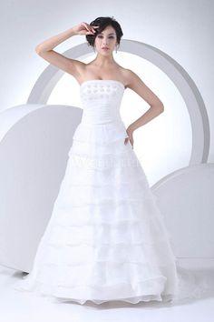 【楽天市場】【送料無料♪♪♪】Aライン レーディースファッション 結婚式 ドレス ロング レース/ビジュー ウェディングドレス 花嫁ドレス 衣装 ストラップレス フロアレングス 大きいサイズ お呼ばれ ミセス オーダー:wonderful ドレス通販