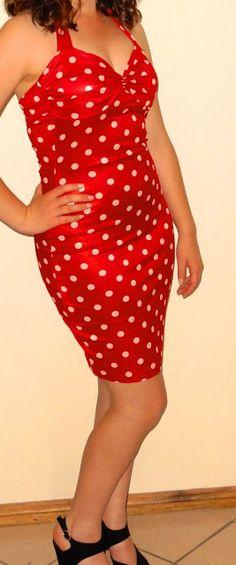 DIY 1950's Pinup Dress | Sweet Chic DIY