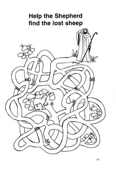 Lost Sheep Coloring Page Inspirational the Good Shepherd & Lost Sheep Worksheet Sundayschoolist Preschool Bible, Bible Activities, Sunday School Activities, Sunday School Crafts, Sunday School Coloring Pages, The Lost Sheep, Religion Catolica, Bible Coloring Pages, The Good Shepherd