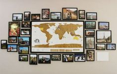 Wonderful ideas for travel maps