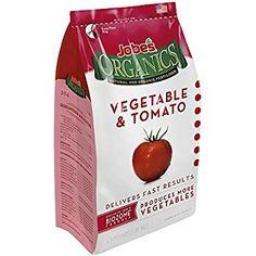 Amazon.com : Jobe's Organics Vegetable & Tomato Fertilizer 2-5-3 Organic Fast Acting Granular Fertilizer with Biozome, 4 Pound Bag : Garden Fertilizers : Patio, Lawn & Garden