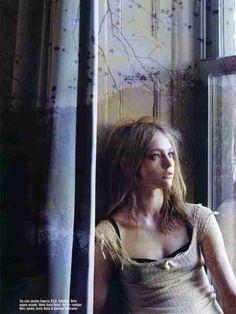 Sasha Pivovarova Vogue Italy January 2006 Steven Meisel