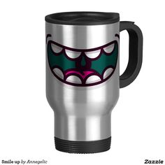 Smile up travel mug