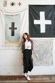 Stella Berkofsky / mohawk general store.....hello beautiful flags