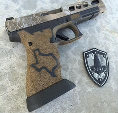 My friend Damon Young started this company doing custom Glocks. And he does some killer stuff!