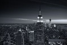 View of city - Manhattan - New York City - United States Wall Mural by Philippe Hugonnard at AllPosters.com