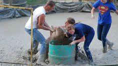 Stop Pig Wrestling at Wild West Days in Viroqua, WI