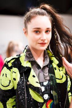 Ashish. ( I want that smiley face jacket)