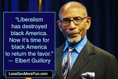"""Liberalism destroyed black America Now it's time for black America to return the favor"" -Elbert Guillory #P2 #CVN #trump #maga @realerincruz"