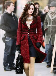 Blair  | Gossip Girl example of a Capricorn outfit