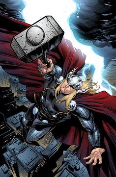 Thor by Sean Ellery | Illustration | 2D | CGSociety