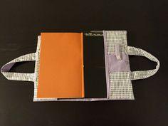 Manualidades propias  : funda libro bolsa