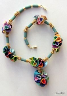 Necklace by Ghost Shift, via Flickr  How I admire the imagination and talent to make something beautiful and original.