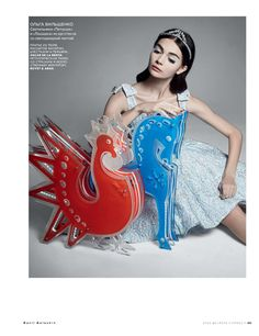 antonina vasylchenko by danil golovkin for vogue russia december 2012 | visual optimism; fashion editorials, shows, campaigns & more!