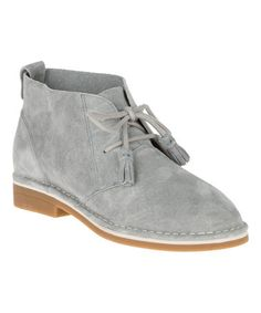 ❤Look at this  zulilyfind! Frost Gray Cyra Catelyn Suede Chukka Boot   zulilyfinds e2a31f2c07