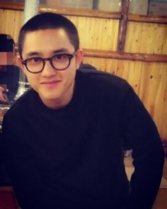 "succumbysoo: ""Kyungsoo in Glasses 2018™ """