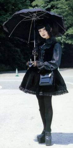Old School Gothic Lolita & E.G.L.... i've always wanted to rock A Gothic Lolita outfit... & w/ my small frame & copper red hair, would be AMAZING!