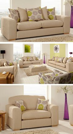 The beautiful Gem range from ScS #sofas #floral #sofas