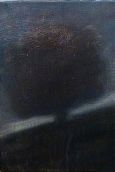 Arbre 4 Huile sur toile, 27x41cm