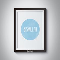 Bismillah by QuoteLovin on Etsy