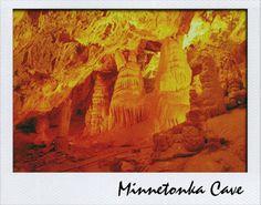 Bear Lake Utah.  Minnetonka Cave.