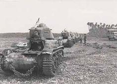 Le 501e régiment de chars de combat (1940 - 1945) Vichy France