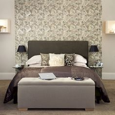 Create the perfect dream space with this hotel-chic bedroom design idea