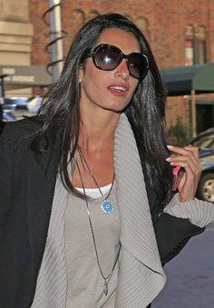 Clooney Style: Recreating Amal's Unbelievably Shiny Hair   Sam ...