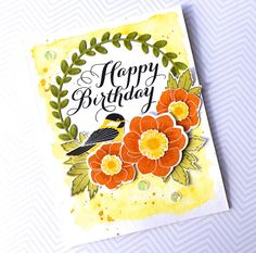 Bold Blossoms, Winter Woods, Graceful Greetings: PTI, wreath die, flower sketch, watercolor, The Queen's Scene