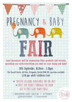 20th September 2014. Vassall Centre, Bristol BS16 2QQ 10.30-2.30  Our fair will be bustling with experts in all things pregnancy, birth and baby. Whether you want advice on birthing in water, maybe you want to know how holistic massage can alleviate your body aches, or you want to learn about fun groups like signing and signing, perhaps you just buy some fabulous books and sit in the café and have a cake….You can do all this and more!