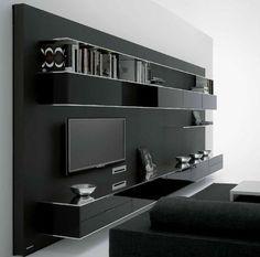Contemporary TV wall unit ELEVENFIVE by B.Fattorini MDF Italia