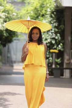 Diana Opoti in a dress by Nigeria's Alter Ego
